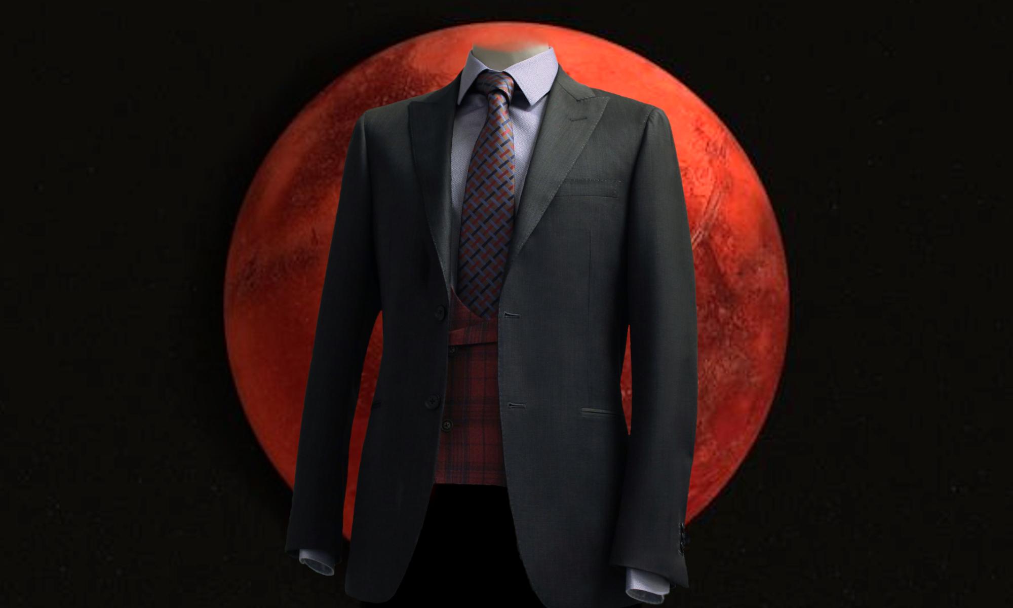 Le tailleur sur Mars